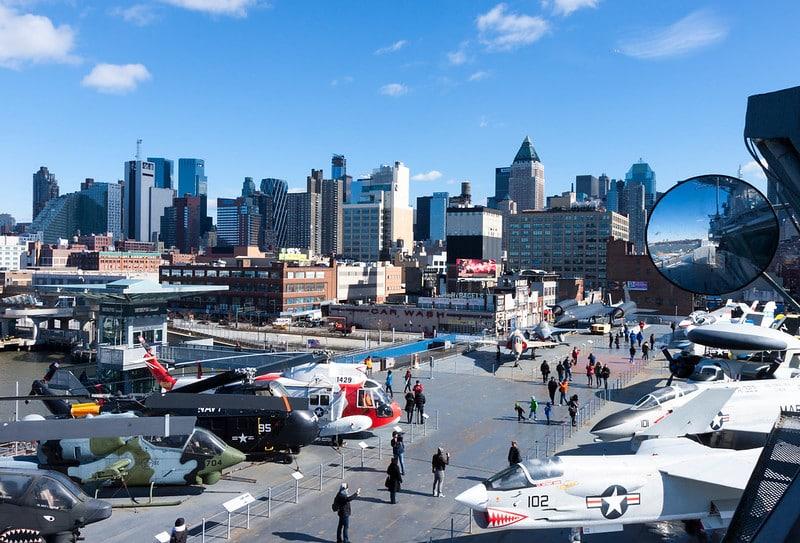 Que voir et que faire à l'Intrepid Sea Air Space Museum à New York ?