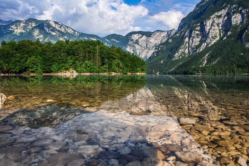 Le lac Bohinj