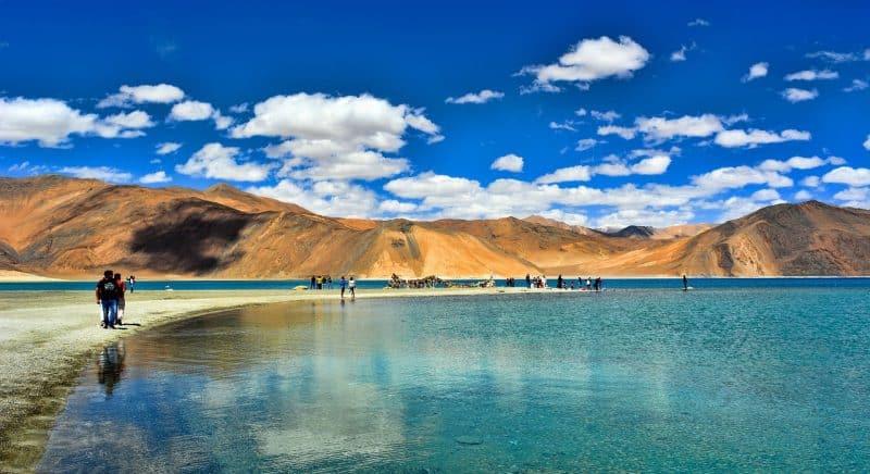 La région de Ladakh, Leh, Inde