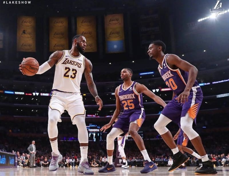 Quand voir un match des Los Angeles Lakers ?