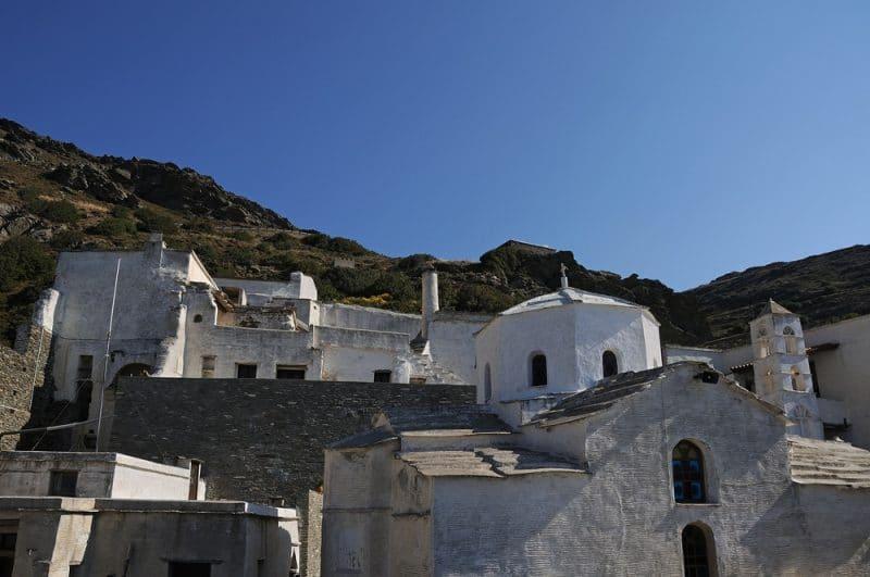 Monastery Panachrantou, Andros