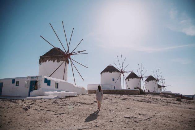 Comment aller à Mykonos depuis Athènes en ferry ?