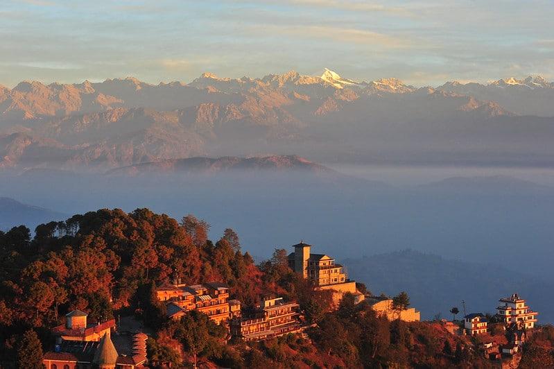 Nagarkot, Népal