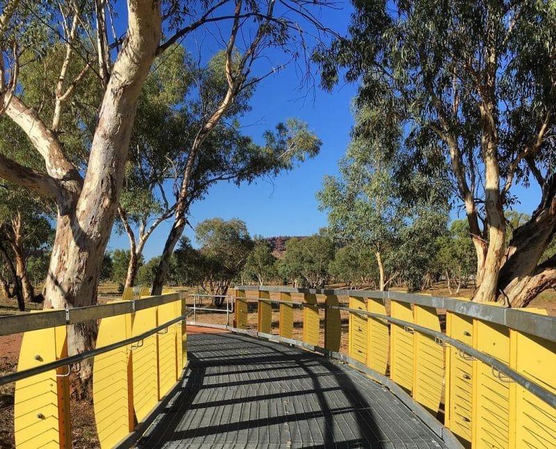 Olive Pink, Jardin Botanique, Alice Springs