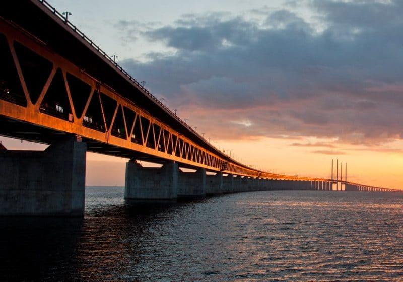 Pont de l'Øresund, Suède