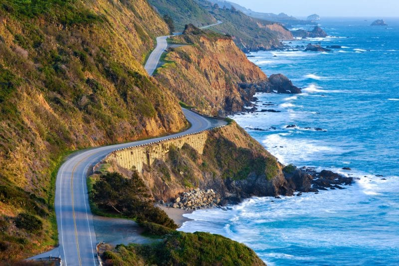 Pacific Coast Highway, Etats-Unis