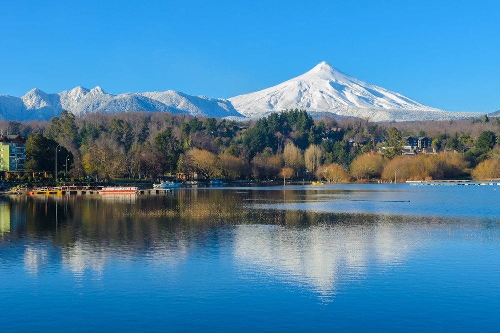 Région des lacs, Chili
