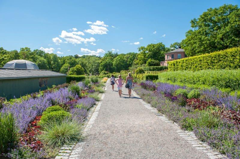 Jardins botaniques de Rosendals Trädgård, Suède