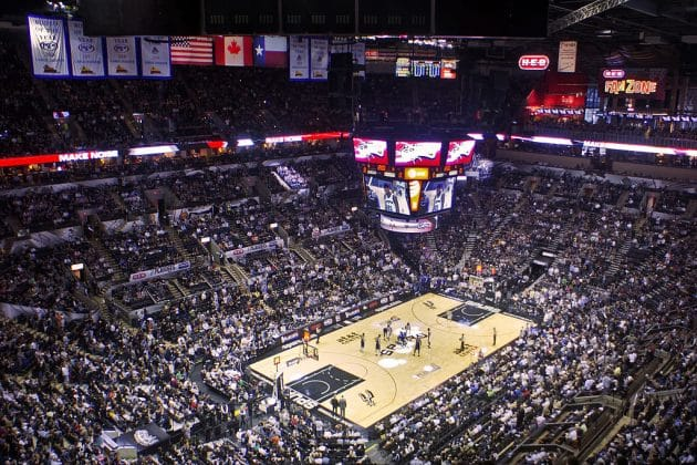 Comment voir un match NBA des San Antonio Spurs ?