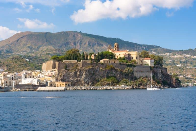 Lipari castle