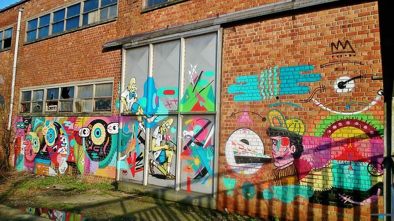 Street art à Gand, Belgique