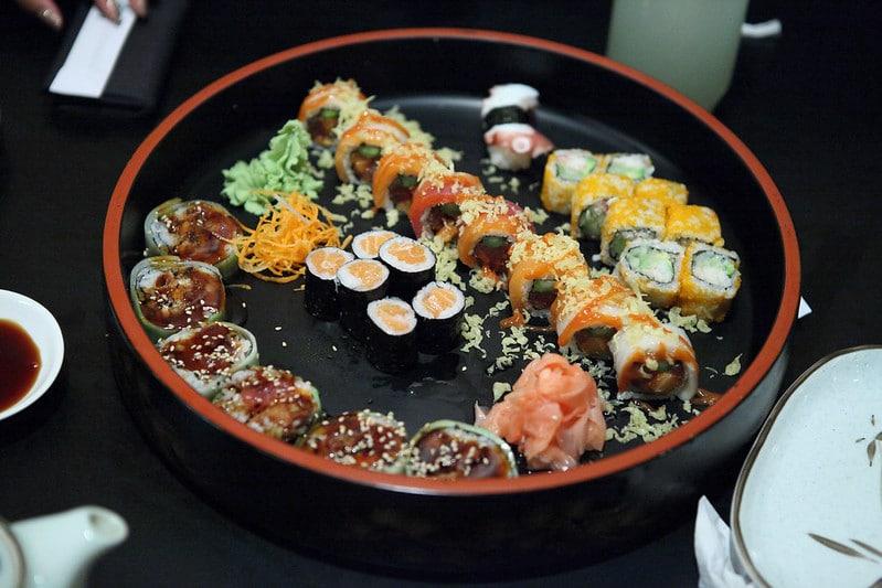 Manger des sushis à Nagoya