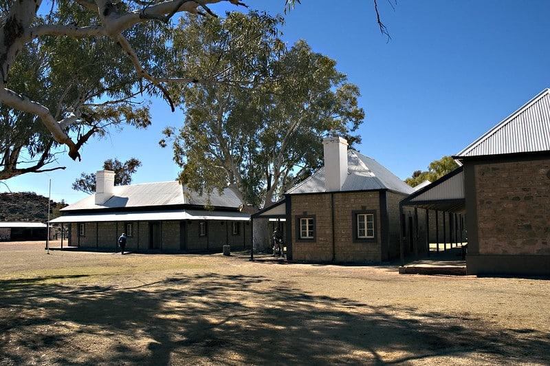 Station télégraphique, Alice Springs