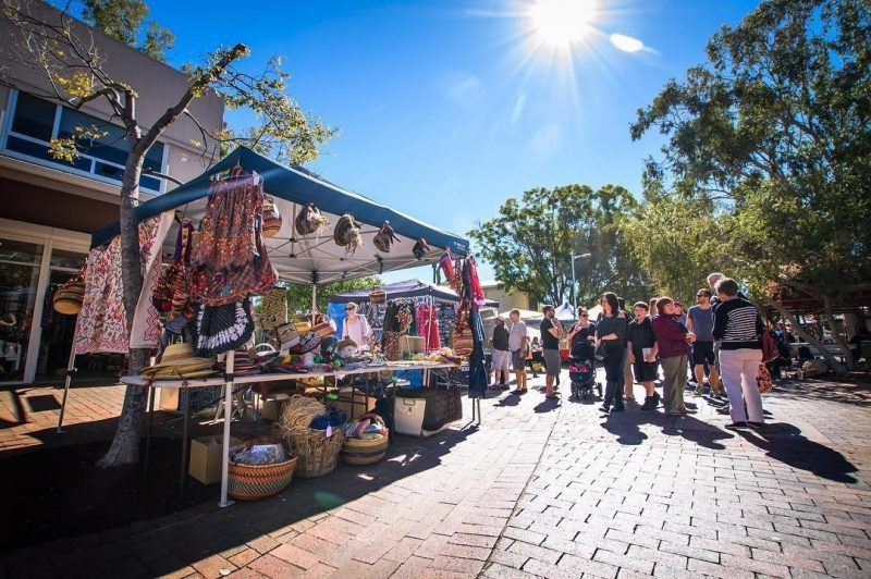 Todd Mall Market, Alice Springs