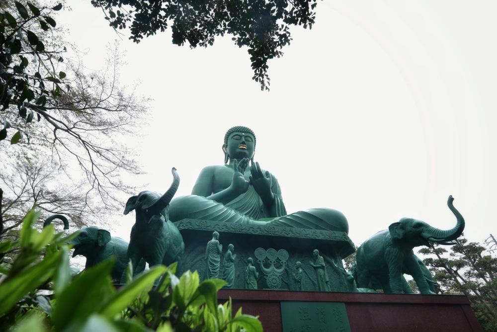 Temple Togan-Ji, Bouddha vert, Nagoya