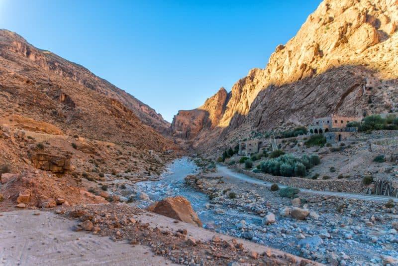 Les gorges de Toudgha, Maroc