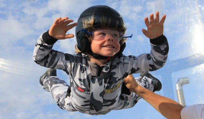 Simulateur saut en parachute, Twist Air, Montpellier