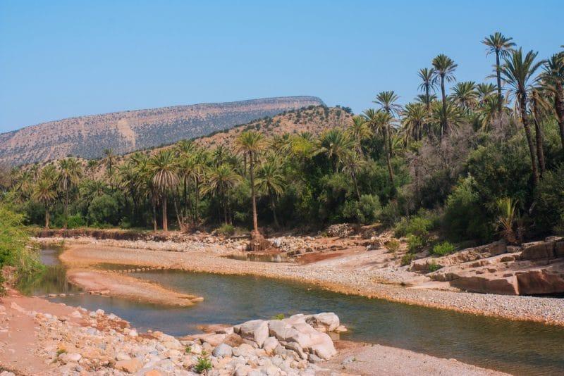 Vallée du Paradis au Maroc