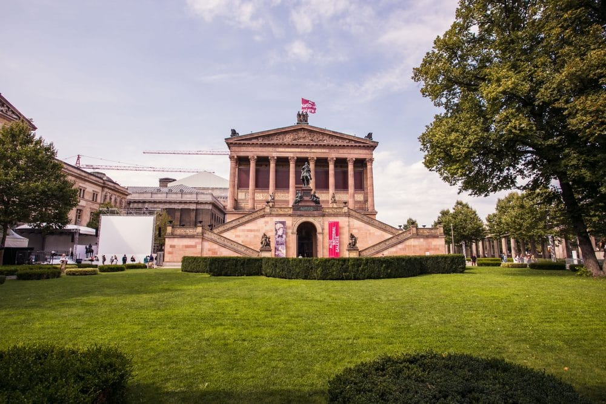 Visiter l'Alte Nationalgalerie à Berlin