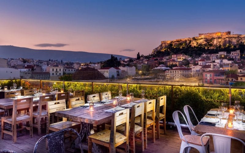 360° cocktail bar, Athènes