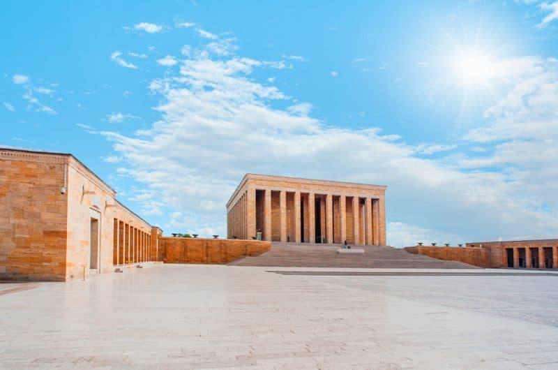 Le mausolée d'Anıtkabir, Ankara