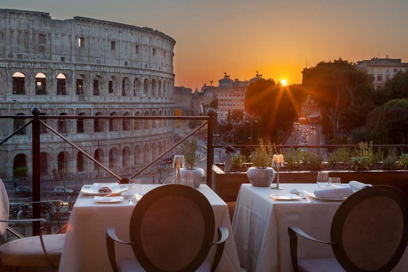 Aroma Ristorante, Rome