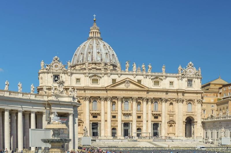 La basilique Saint-Pierre, Rome