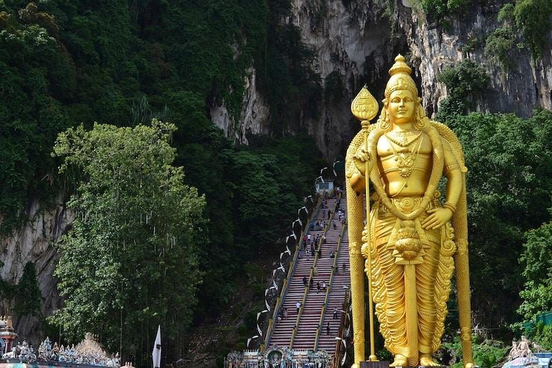 Grottes de Batu, Malaisie