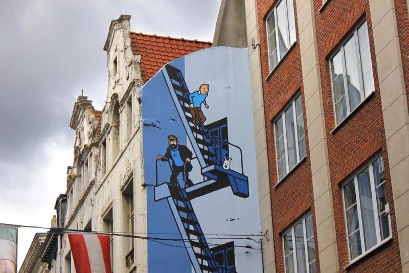 peinture murale, street art, bruxelles