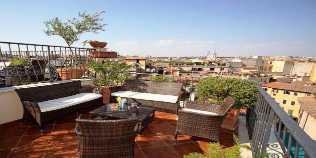 Les 10 meilleurs hôtels avec vue sur Rome