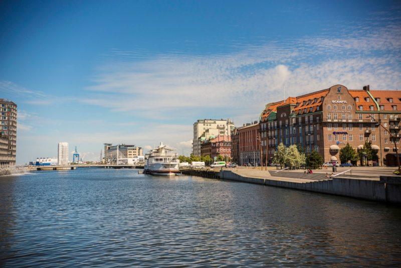 Balade en bateau à Malmö
