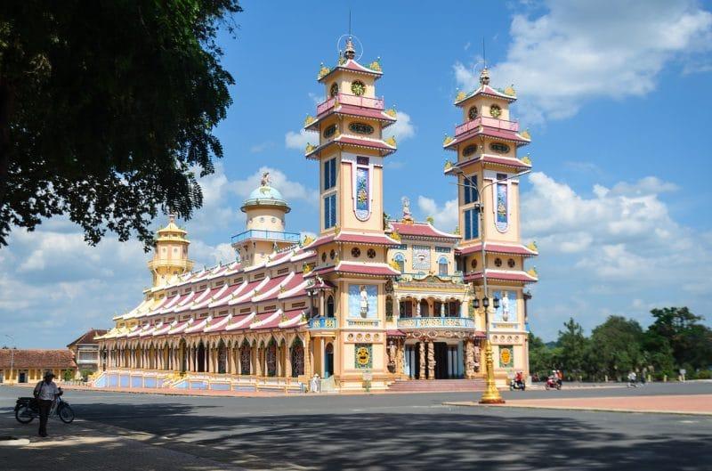 Temple Cao Đài, Vietnam