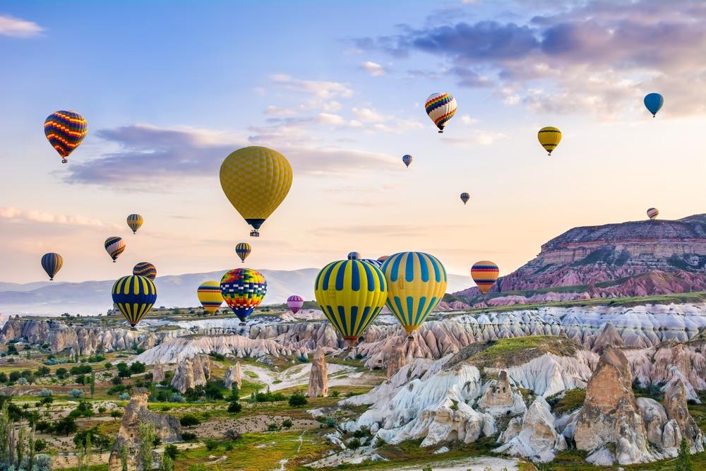 Région de la Cappadoce, Turquie