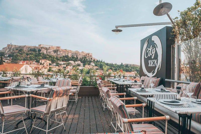 Restaurant bar City Zen, Athènes