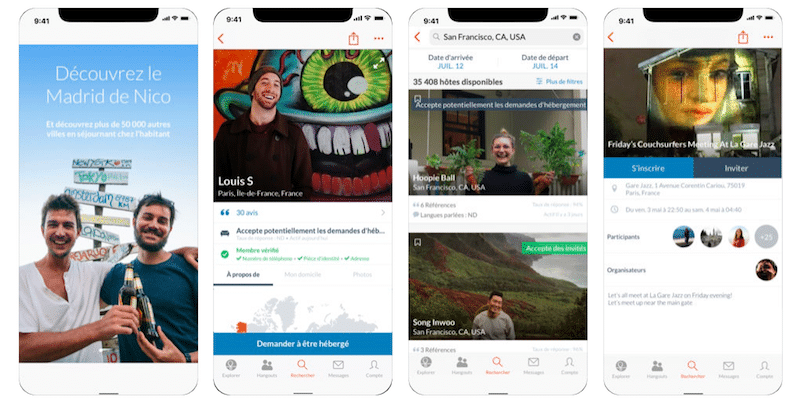 Couchsurfing - App Store