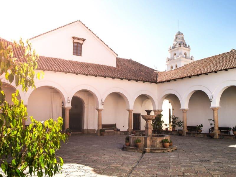Musée, cour intérieure, Sucre