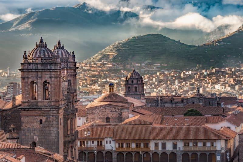 Ville de Cuzco, Pérou