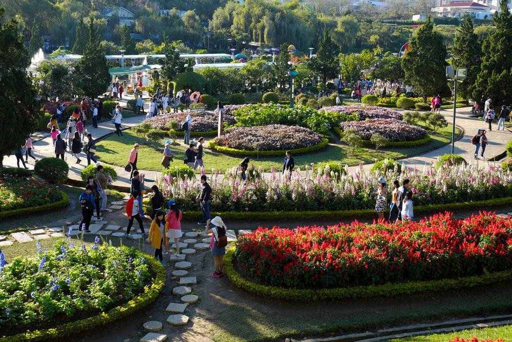 Đà Lạt, festival des fleurs, Vietnam