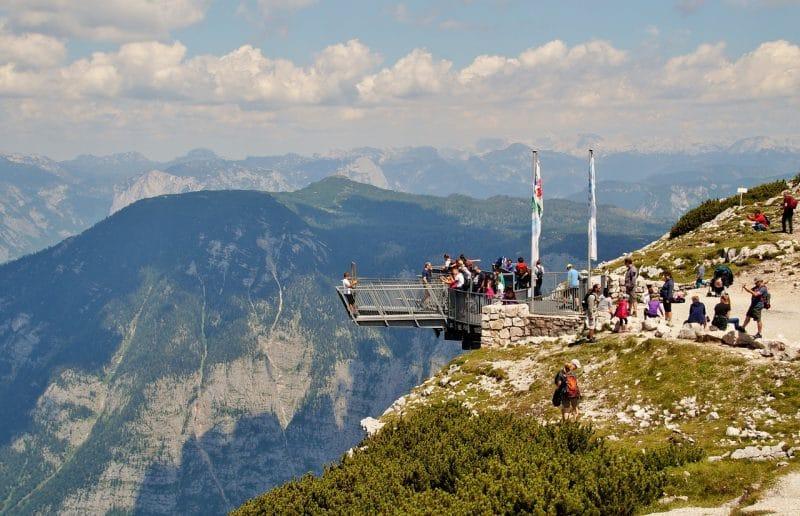 Dachstein, point de vue, Autriche