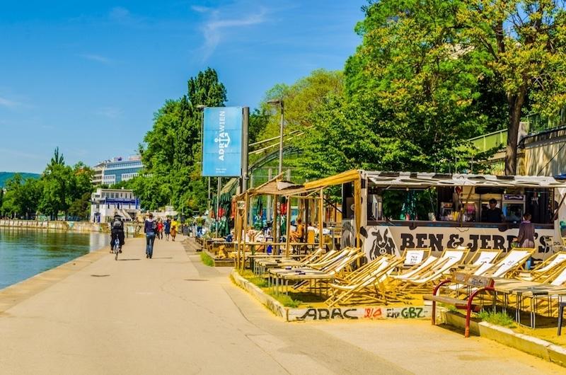 Les bords du Danube, Vienne