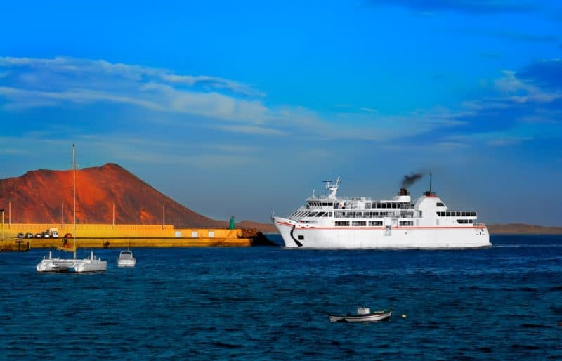 Compagnies ferry îles Canaries