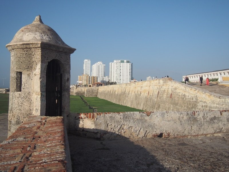 Fortifications, Cartagena de Indias