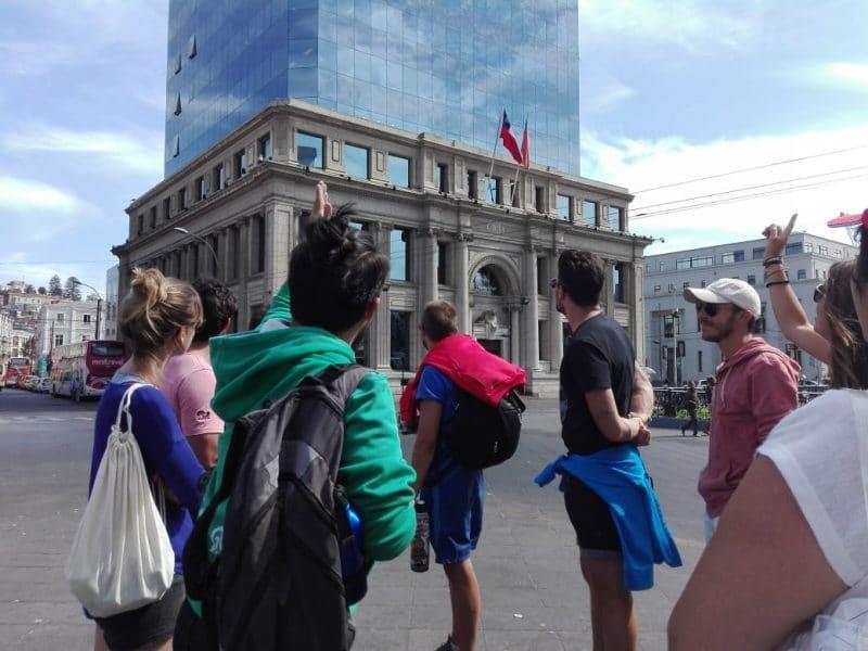 Free walking Tour, Valparaiso
