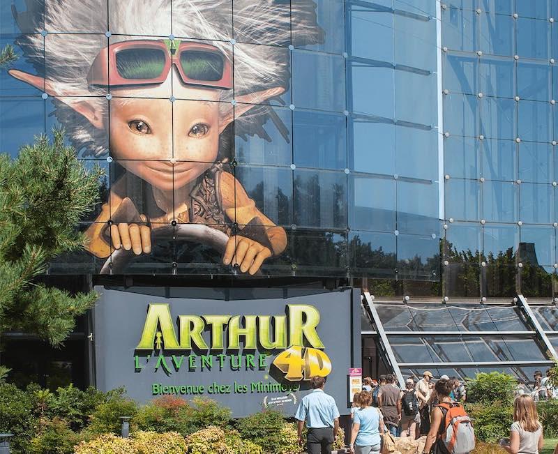 Arthur et les Minimoys, Futuroscope