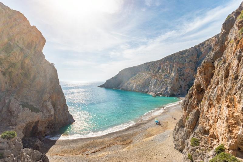 Agio Farango, Crète