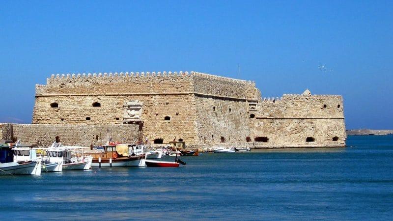 Forteresse d'Héraklion, Crète