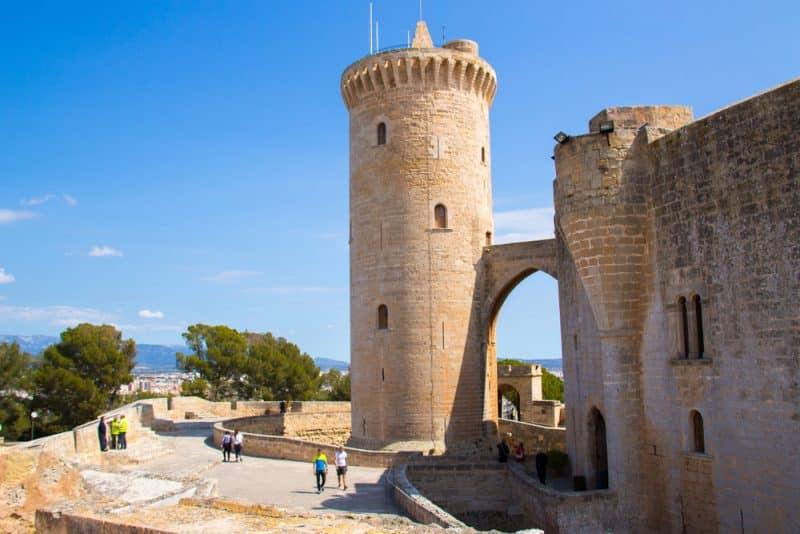 Histoire du Castell de Bellver
