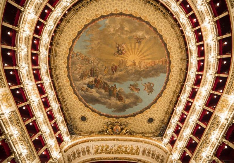 Histoire du Théâtre San Carlo à Naples