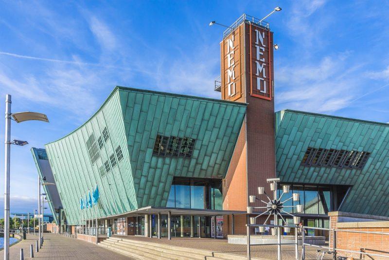 Horaires et tarifs du musée NEMO à Amsterdam