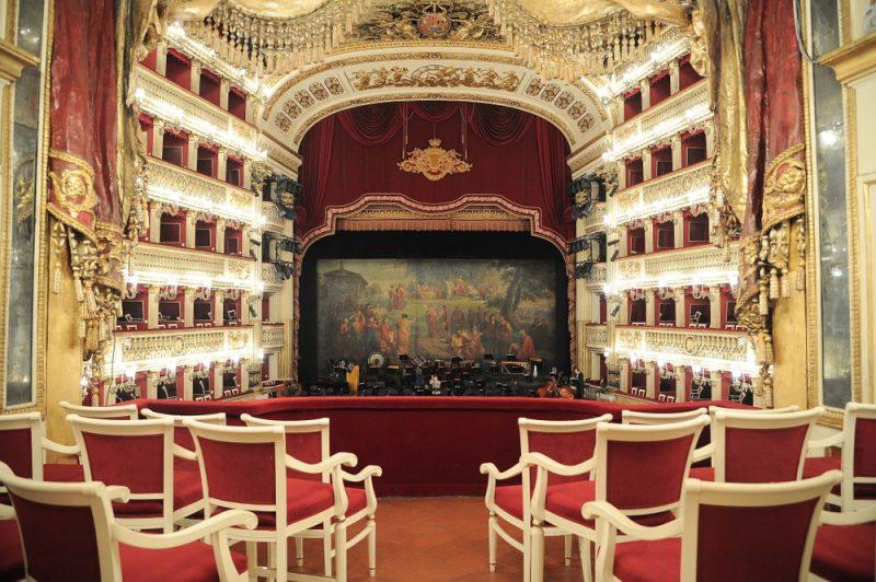 Horaires et tarifs du Théâtre San Carlo à Naples